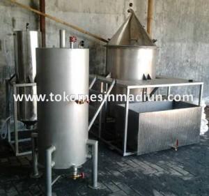 Mesin penyulingan minyak Atsiri alat destilasi nilam