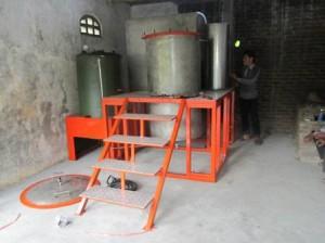 mesin destilasi penyuling minyak