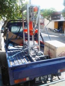 pengiriman mesin paving