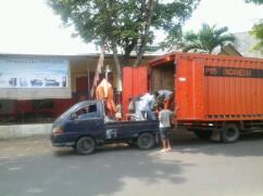 pengiriman mesin