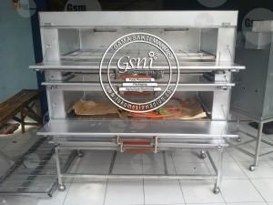 Mesin Oven Roti Gas Lokal