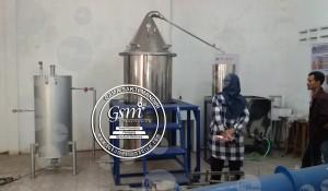 Mesin Destilasi Minyak Kapasitas 100 Kg