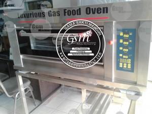 mesin oven roti berkualitas Type BOV-ARF20C full stainless steel
