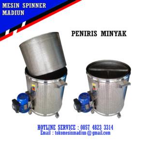 mesin spinner peniris minyak kapasitas 10 kg berkualitas di madiun