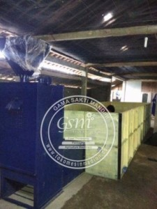 Mesin Box Dryer Pengering Padi