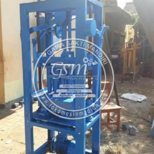 Mesin Cetak Batako Paving Sistem Getar