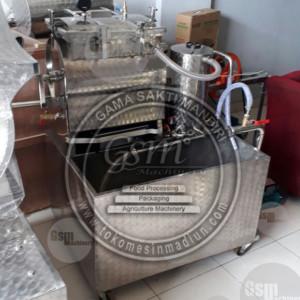 Mesin Vacuum Frying Kapasitas 1,5 Kg