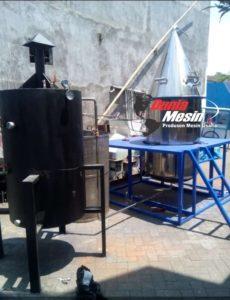 Mesin Destilasi 100 Kg