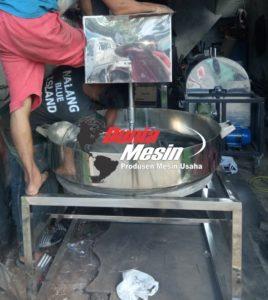 Mesin Pengaduk Sambal Kapasitas 100 kg