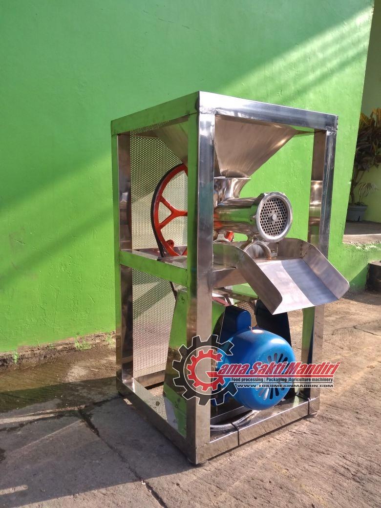 Mesin Giling Daging dan Bumbu Full Stainless Steel