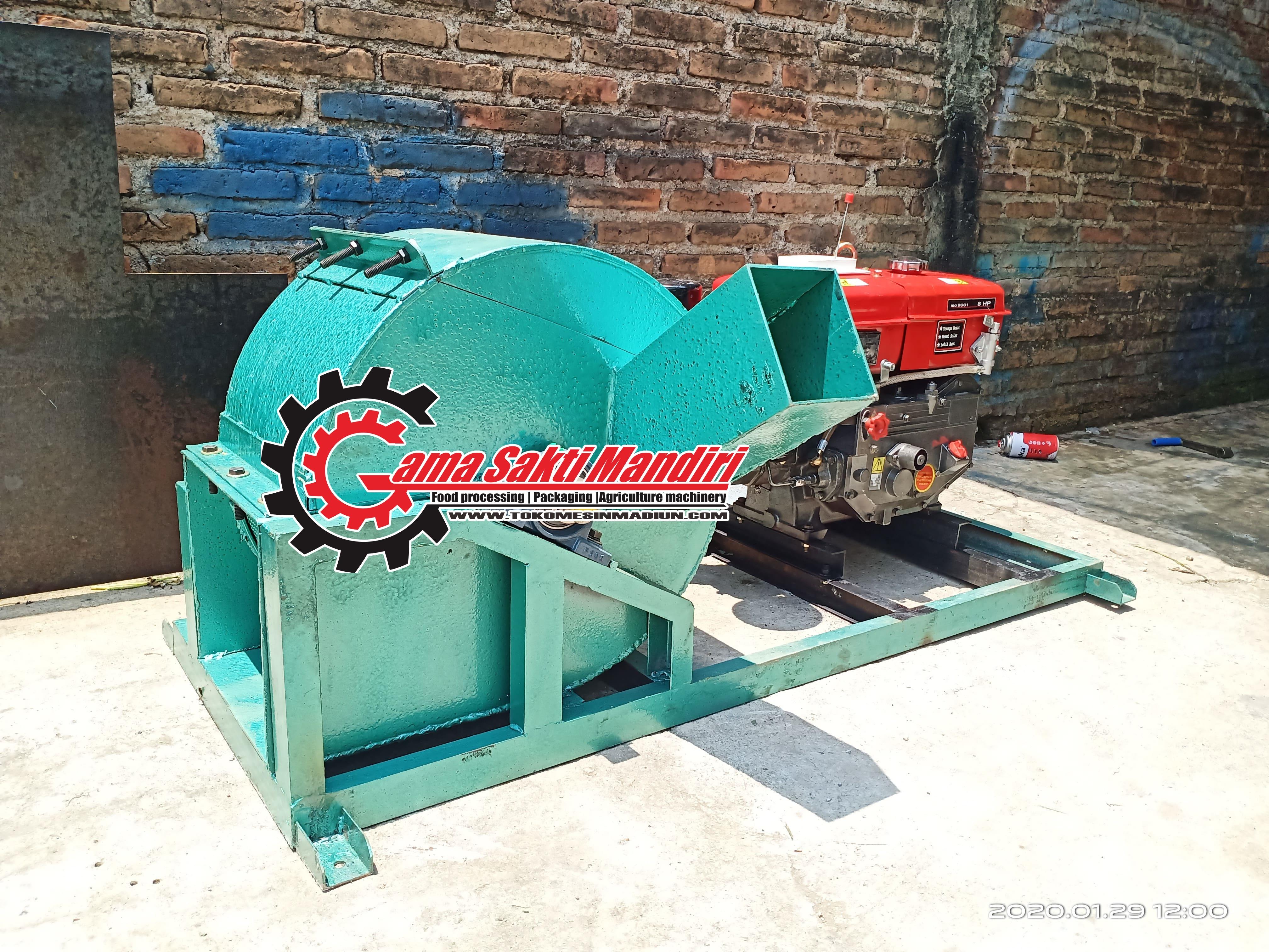Mesin Pencacah Kayu Wood Crusher