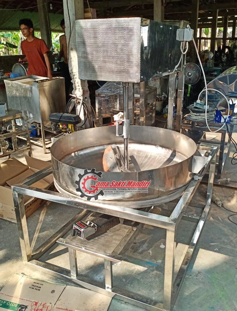 Mesin Pemasak Saus dan Sambal Stainless Steel