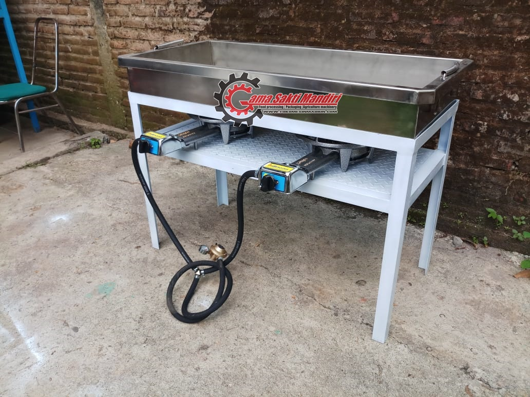 Wajan Penggoreng Donat Stainless Steel